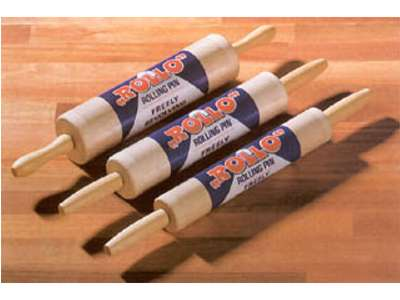 Rolling Pins with Nylon Bearings